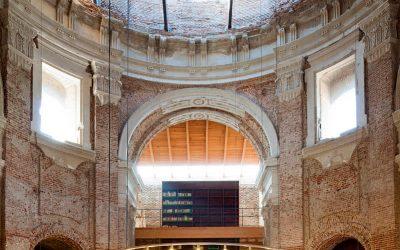 A Madrid il rudere di una chiesa diventa un centro culturale