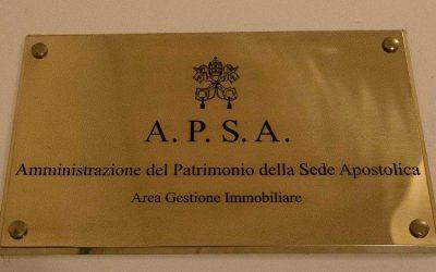 Un nome nuovo all'Apsa