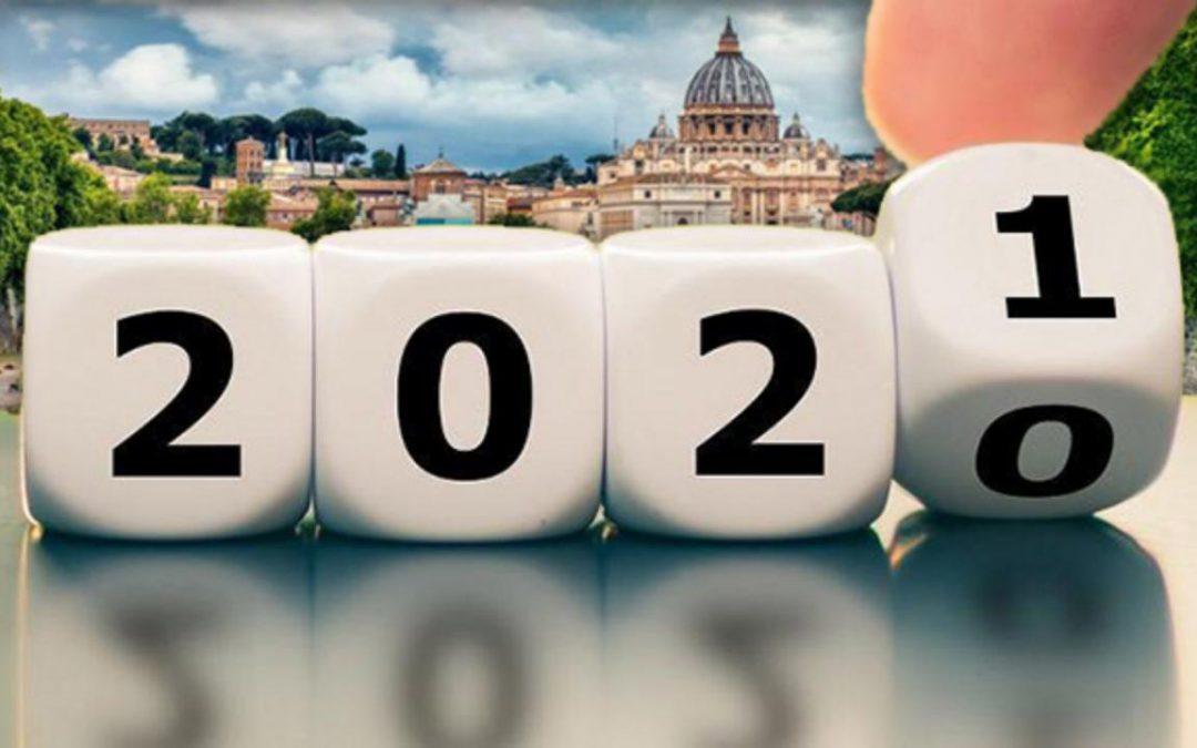 Bilancio 2020 e auguri per il 2021, pensando a iniziative oltre la pandemia