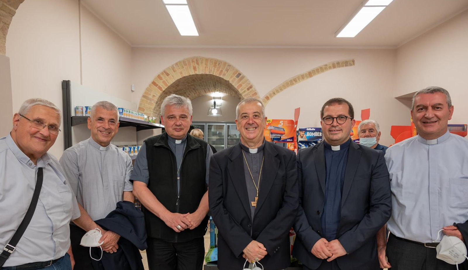 San Severo. Quella carezza di Papa Francesco - Osservatorio Permanente sui Beni Ecclesiastici